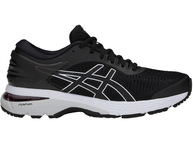 asics Gel-Kayano 25 Shoes Women Black/Glacier Grey